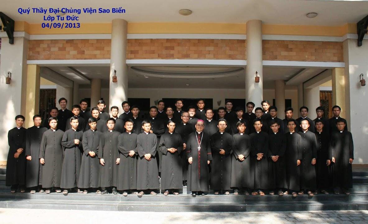 Đại Chủng Viện Sao Biển Nha Trang: Giới thiệu Năm Tu Đức 2013-2014
