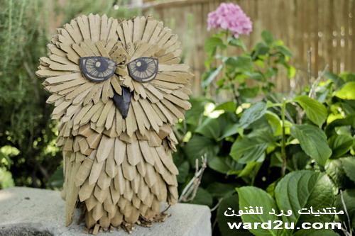 ورق مقوى اعمال فنية من الكرتون cardboard art Ali Golzad