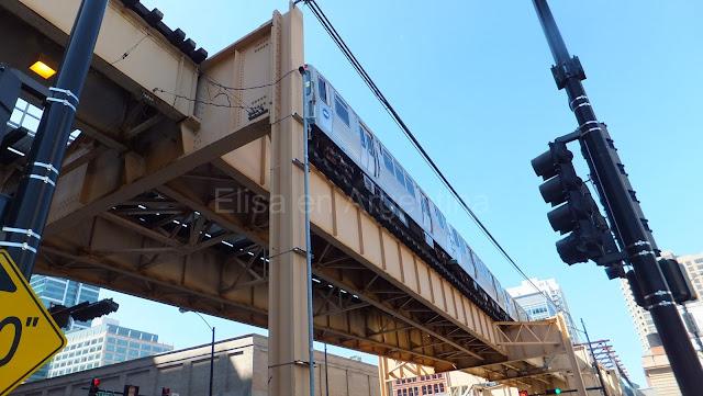 L, El Elevado, The Loop, Chicago, Elisa N, Blog de Viajes, Lifestyle, Travel