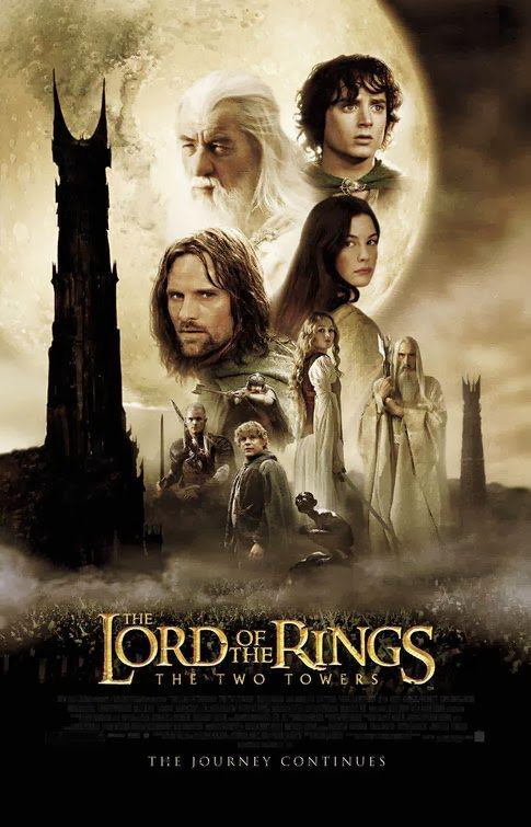 Poster Of The Lord of the Rings (2002) Full Movie Hindi Dubbed Free Download Watch Online At Alldownloads4u.Com