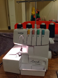 new projects with my brother 1034d serger