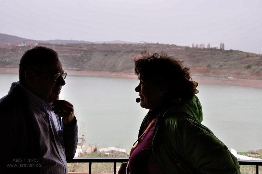 На озере Биркат Рам. Экскурсия на Голаны гида в Израиле Светланы Фиалковой