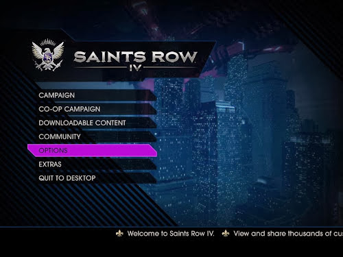Screen Shot Of Saints Row IV (2013) Full PC Game Free Download at Alldownloads4u.Com