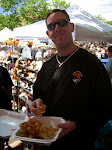 Jeff and his potato skin fries thing