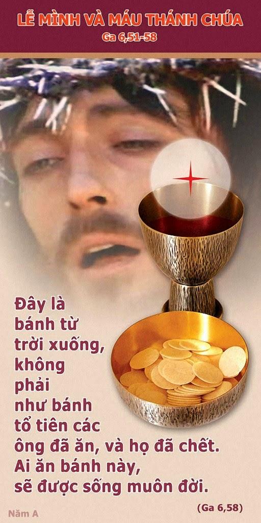 Mình - Máu Thánh Chúa Jesus