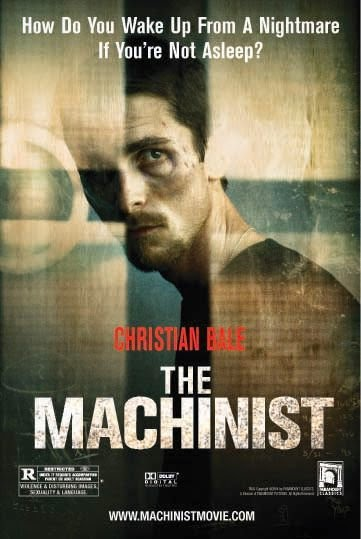 Poster Of The Machinist (2004) Full Movie Hindi Dubbed Free Download Watch Online At Alldownloads4u.Com