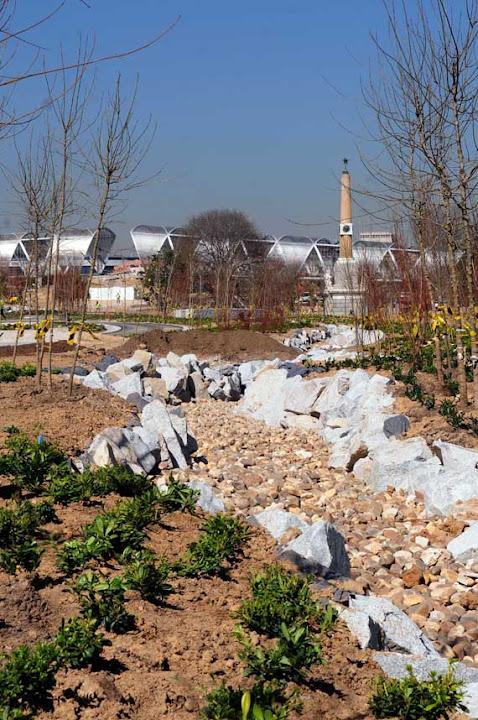 El ampliado parque de la Arganzuela de Madrid Río, casi a punto