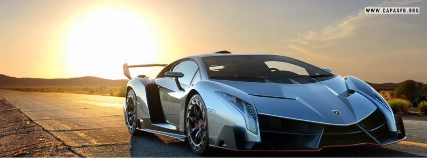 Capas para Facebook Lamborghini Veneno