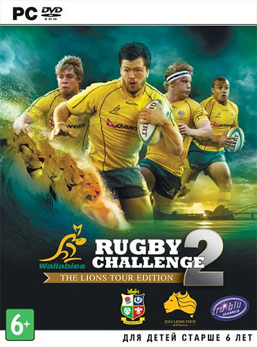 Cover Of Rugby Challenge 2 (2013) Full Latest Version PC Game Free Download Resumable Links at Alldownloads4u.Com