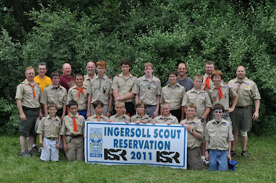 Troop 163 ISR Summer Camp 2011