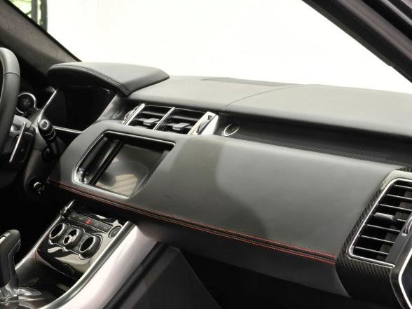 2014 Startech Range Rover Sport - Dashboard