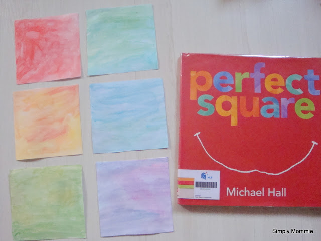 The Perfect Square by Michael Hall activities