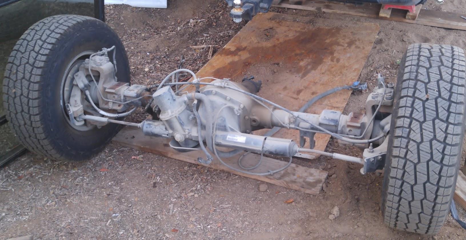Question Rear Axle Diesel Place