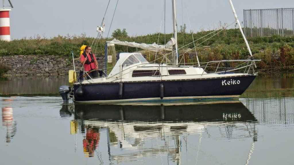 Spiegelglad IJsselmeer