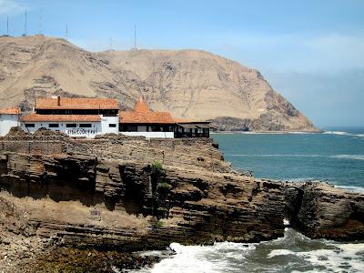 El Salto del Fraile restaurant in Lima Peru
