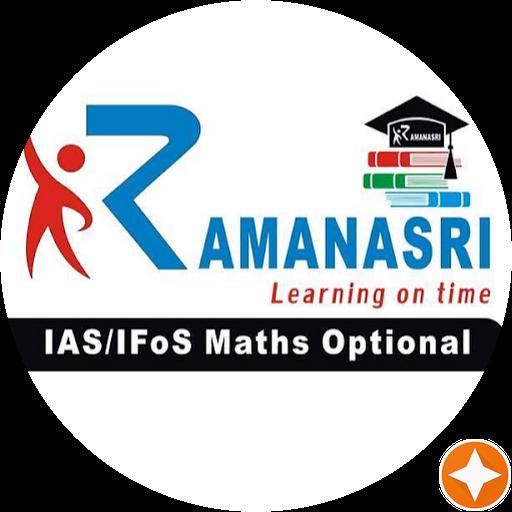 Ramanasri Institute for UPSC Mathematics - Coaching Center in New Delhi