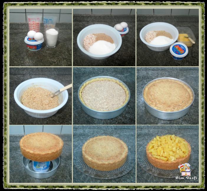 Torta de coco e abacaxi 4