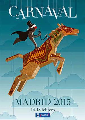 Todo preparado para el Carnaval 2015 de Madrid