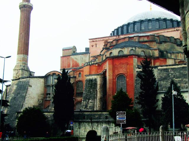Santa Sofía dende a Porta Imperial