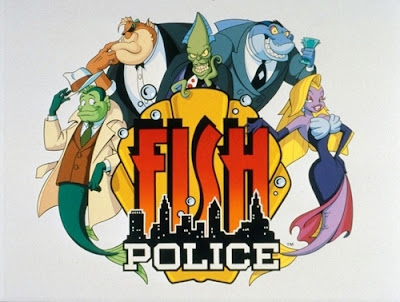 Image result for fish police cartoon