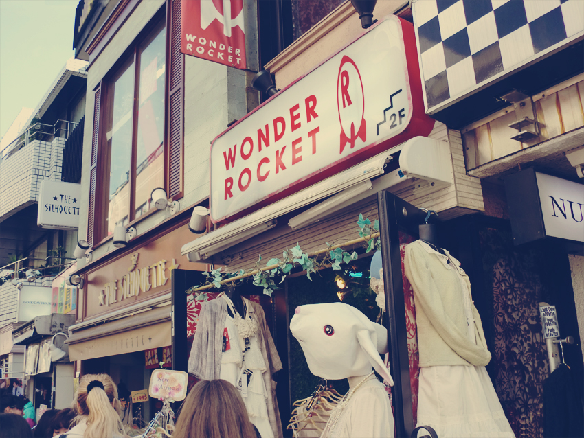 Wonder Rocket store at Takeshita-dori
