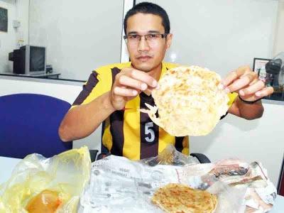 Terkejut harga roti canai biasa RM1.80