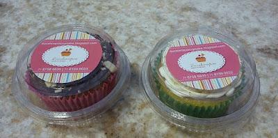 Doceterapia Cupcakes: Sacola das Cupcakes: A embalagem das Cupcakes