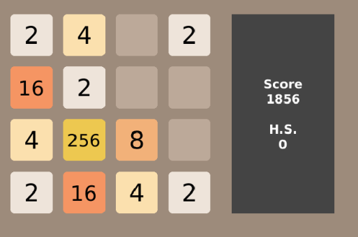2048 Classic v1.3 for BlackBerry