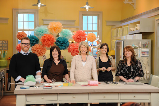 TV Crafters and Martha share their favorite craft tools. Photo: David E. Steele/The Martha Stewart Show
