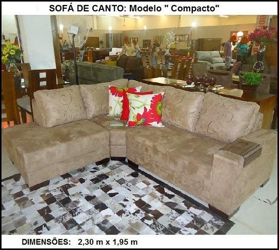 sofá modelo de canto
