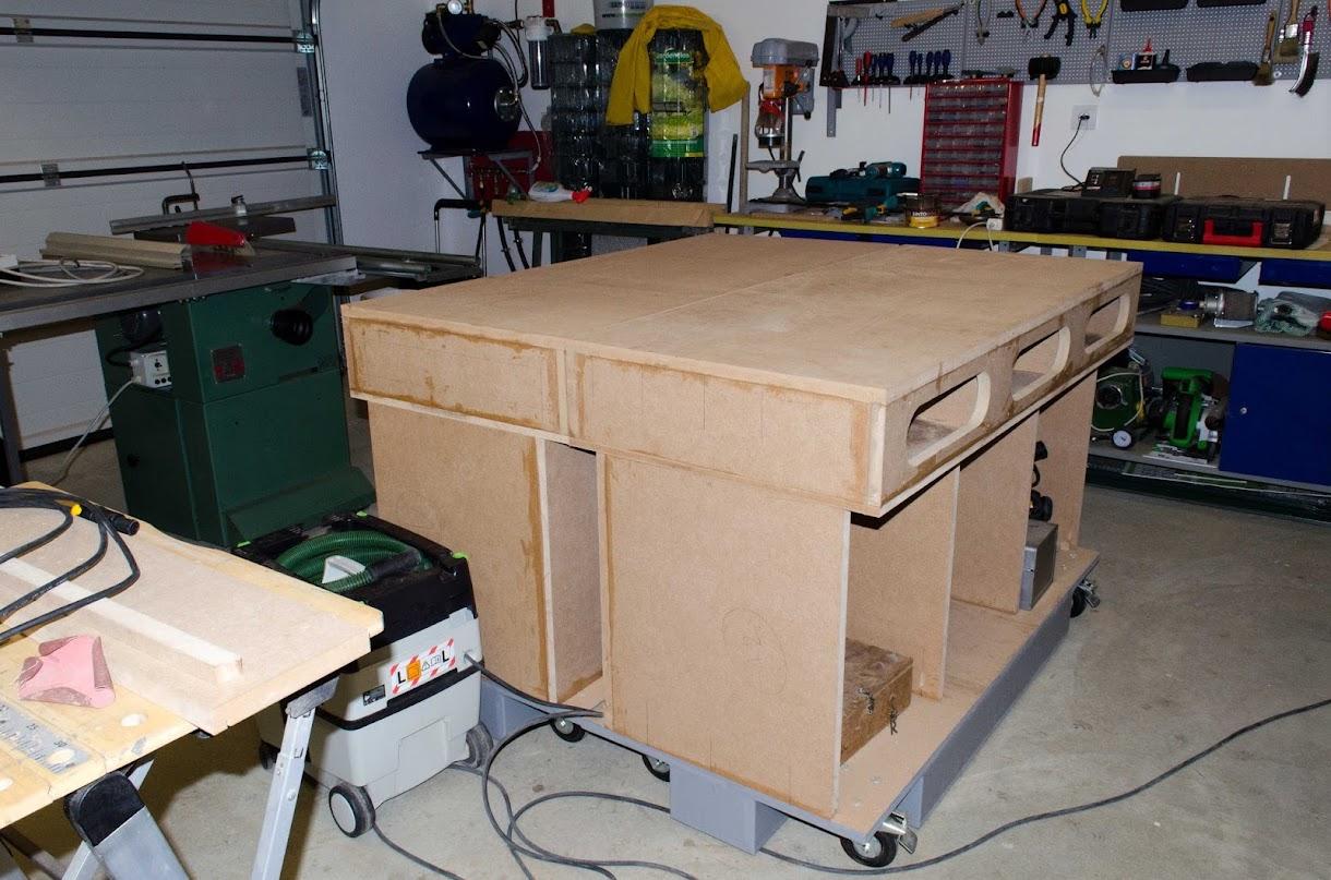 Table d'assemblage + porte systainer DIY [Terminé] - Page 4 _DSC2210