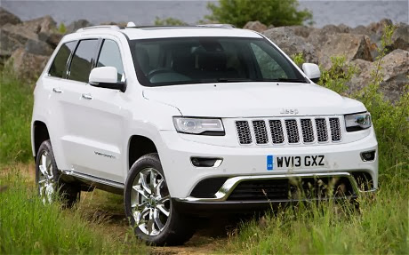 Jeep Grand Cherokee 2014 CRD V6 has many exterior changes