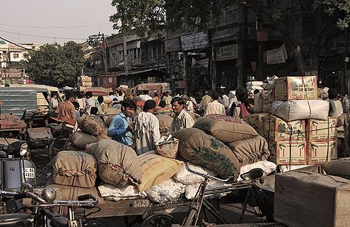 Working in Chandni Chowk