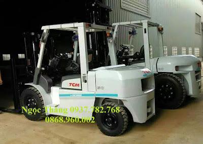 Xe nâng TCM 5 tấn Nhật Bản