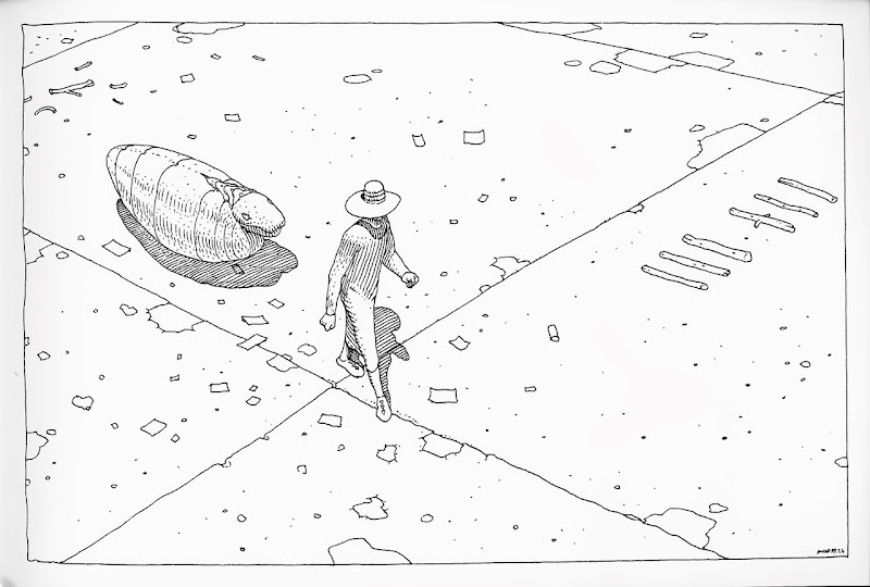 40 Days Dans le Desert B by Moebius
