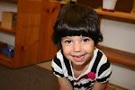 LePort Montessori Preschool Toddler Program Huntington Pier - smiling, happy girl