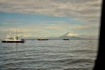 widok na Bali z Lomboku