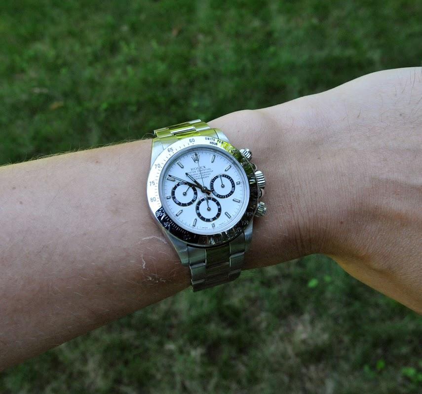 Daytona on a large wrist? , Rolex Forums , Rolex Watch Forum