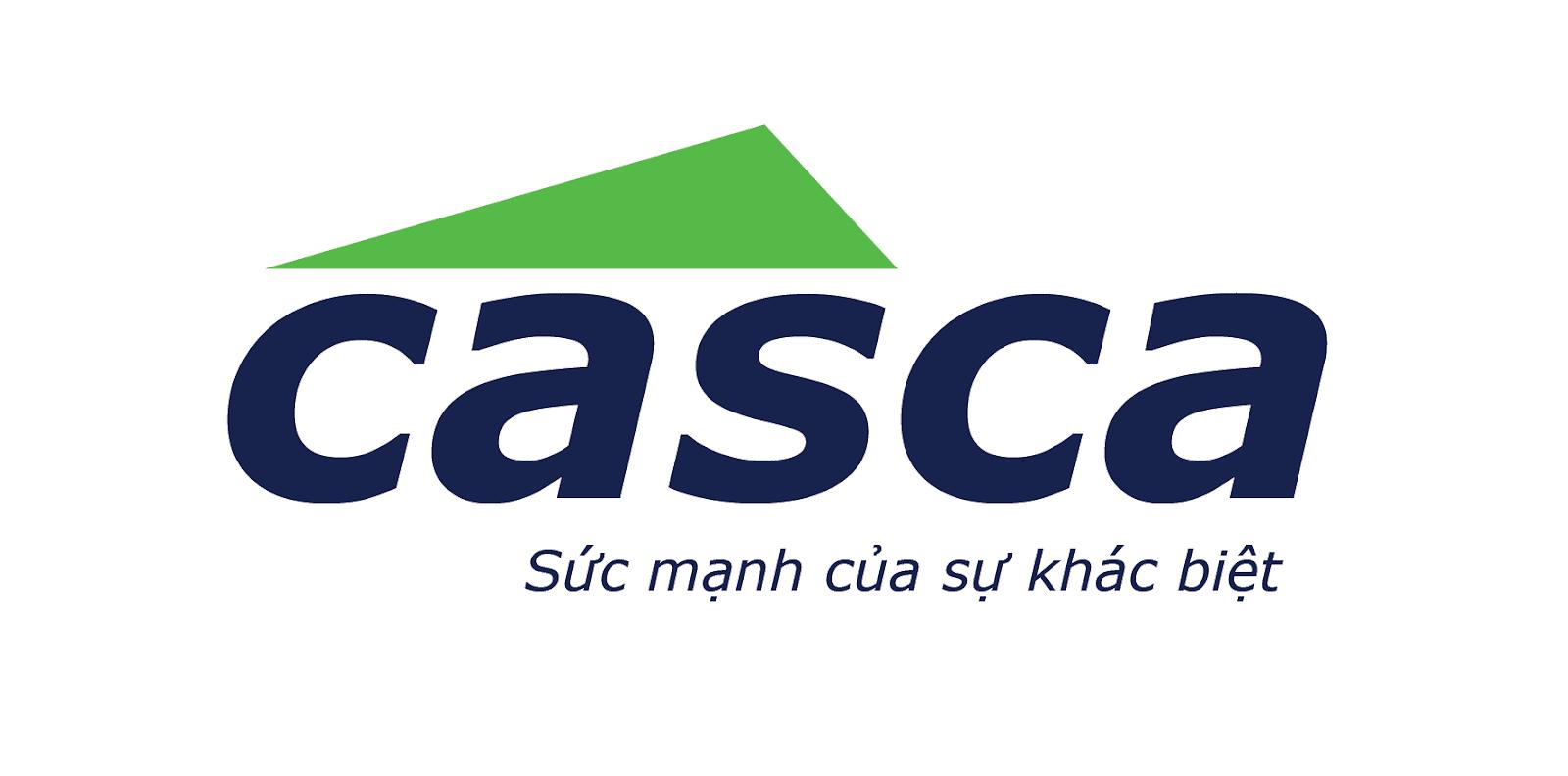 Logo cửa cuốn Casca