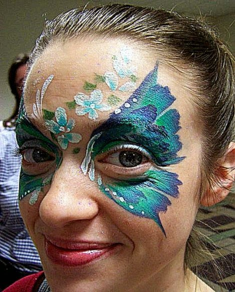 Florida Face Painter   Pam T   Hollywood FL