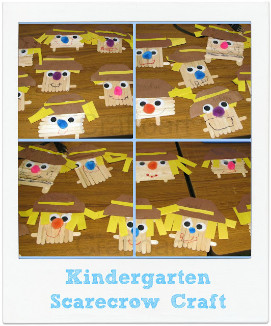 Kindergarten Scarecrow Craft