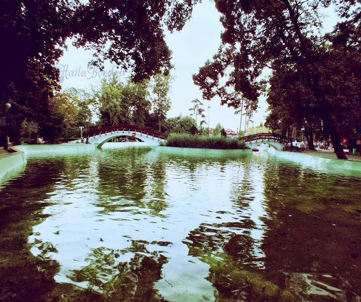 lac parc mihai eminescu botosani
