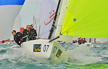 J/70 boats.com sailed by Ian Atkins and Rory Scott