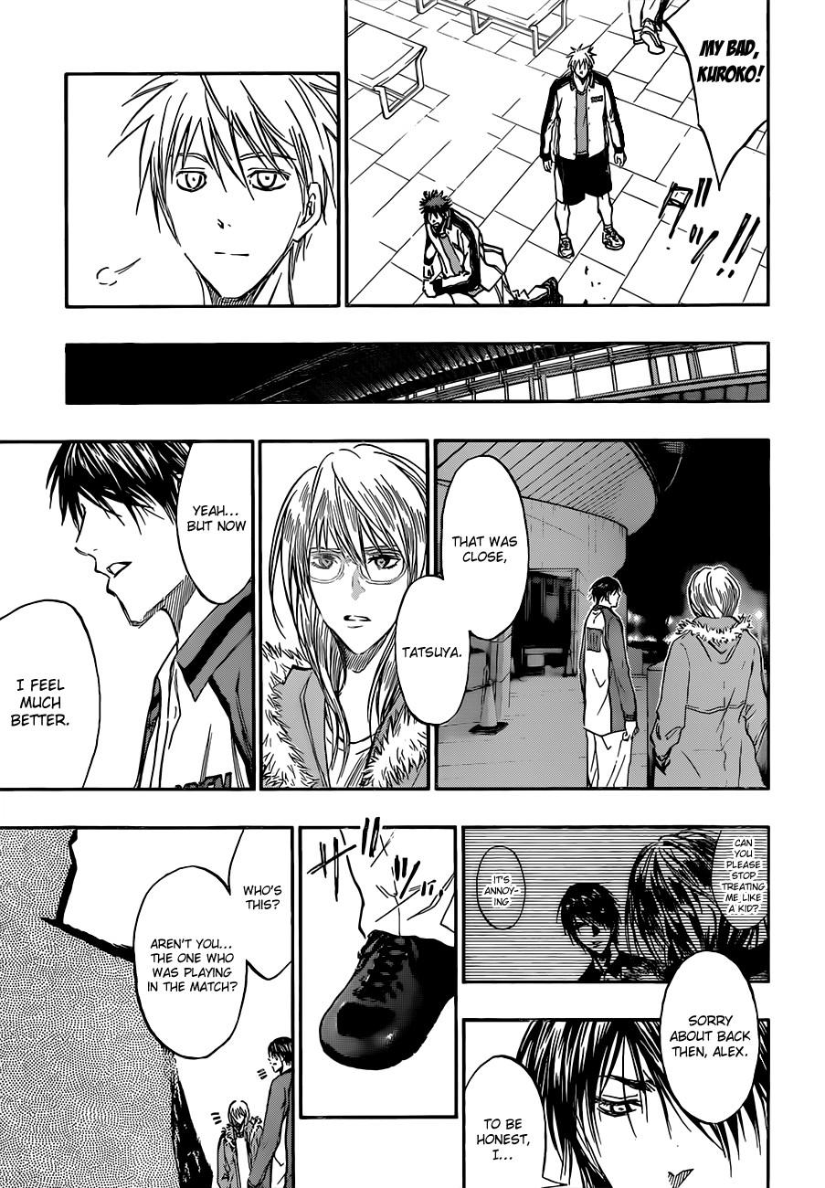 Kuroko no Basket Manga Chapter 169 - Image 17