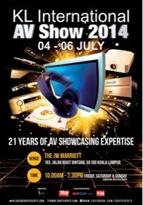 Kuala Lumpur International AV Show 2014 Blogger-image--1087220864