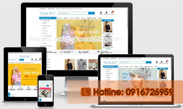 template blogspot shop thoi trang online