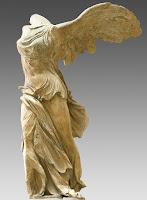 Νίκη της Σαμοθράκης, Ελληνίδα Θεά, Victory of Samothrace, Greek Goddess