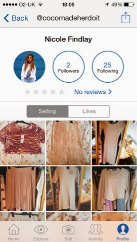 8ce4ba01864 So go and download depop. My user name is  cocomadeherdoit. Already i have  a little pile of goodies waiting to be sold!