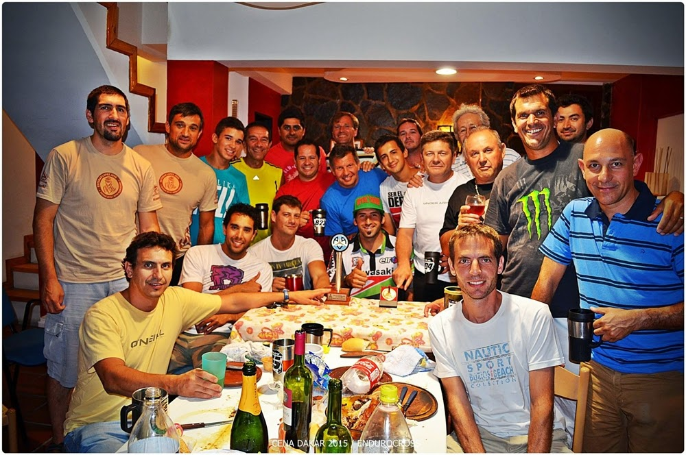 Cena con amigos, López Jové lleno de afectos (Foto: Enduro Cross).