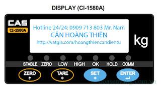 đầu hiển thị điện tử cas CI-1580A